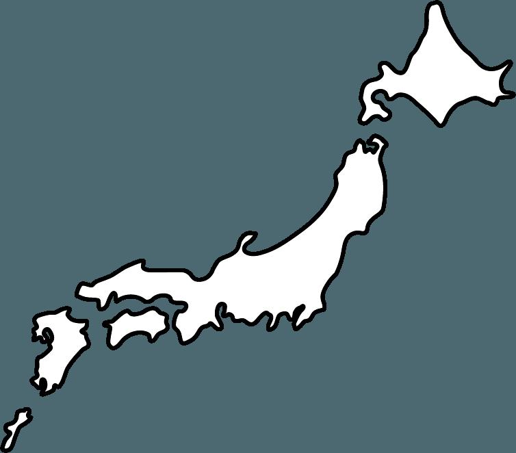 日本列島のイラスト-1