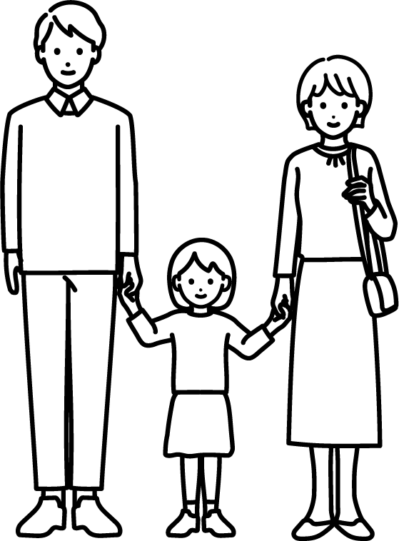家族のイラスト-3