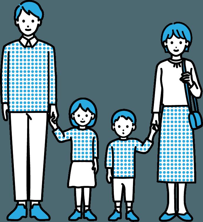 家族のイラスト-4