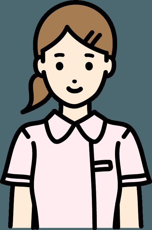 看護師(女)のイラスト