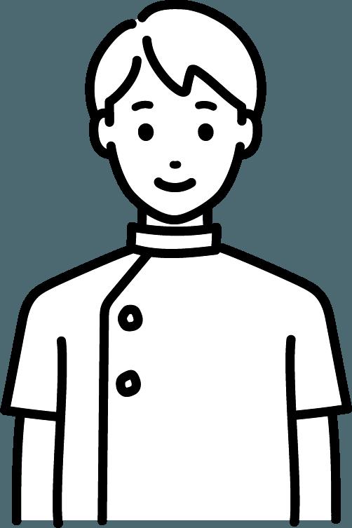 看護師(男)のイラスト