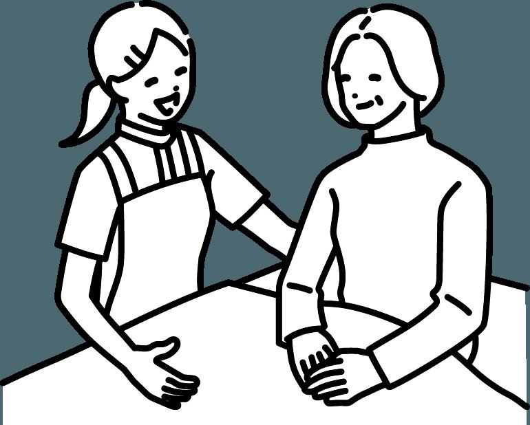 介護のイラスト